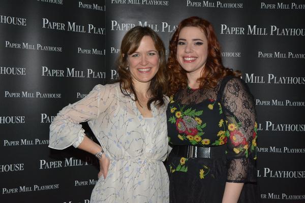 Julie Foldesi and Alysha Umphress