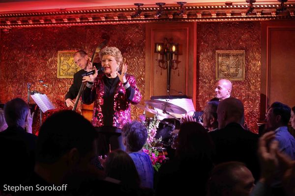 Photo Coverage: Tommy Tune & Michael Feinstein Celebrate with Marilyn Maye at Feinstien's/54 Below