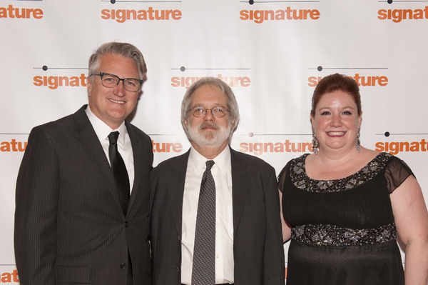 Eric Schaeffer, John Weidman and Maggie Boland