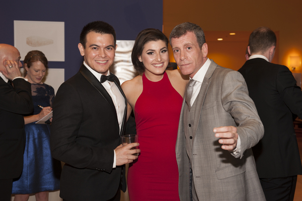 "�"" Christopher Mueller, Maria Rizzo, and Bobby Smith"