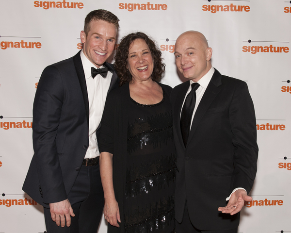 Claybourne Elder, Karen Ziemba and Michael Cerveris