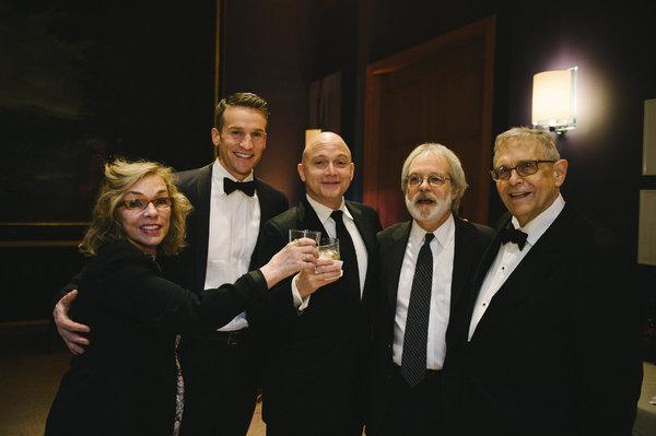 Marsha Norman, Claybourne Elder, Michael Cerveris, John Weidman and Richard Maltby Jr.