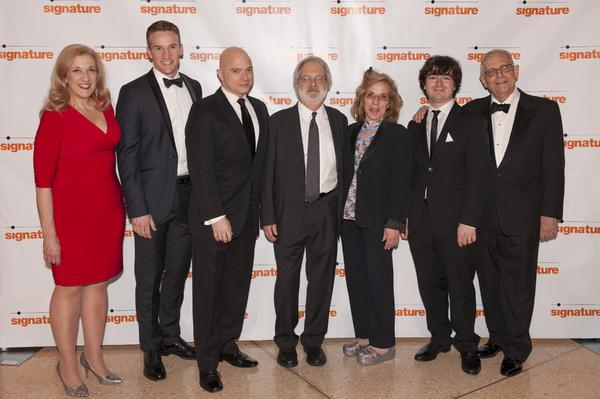 Donna Migliaccio, Claybourne Elder, Michael Cerveris, John Weidman, Marsha Norman, William Yanesh and Richard Maltby Jr.