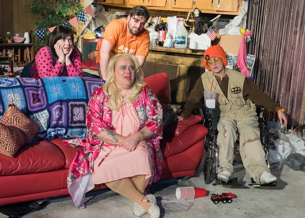 Photo Flash: First Look at New American Folk Theatre's TRASH at The Den Theatre