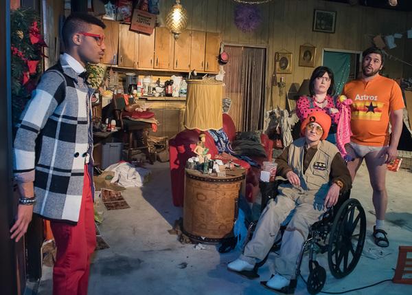 Jamal Howard, Carrie Campana, Caitlin Jackson and Kirk Jackson Photo