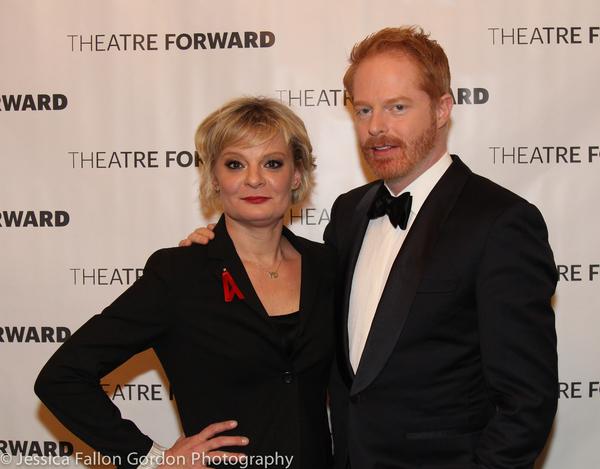 Martha Plimpton and Jesse Tyler Ferguson