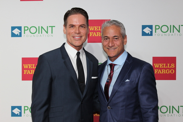 Jorge Valencia and Greg Louganis