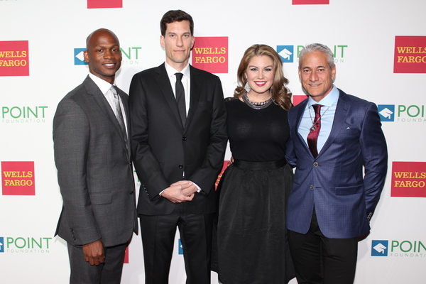 Dennis Williams, Pete Nowalk, Mallory Hagan and Greg Louganis