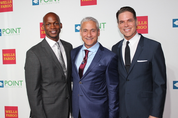 Dennis Williams, Greg Louganis and Jorge Valencia