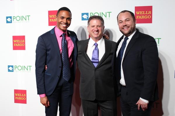 Ritchie Torres, Mitch Draizin and Corey Johnson