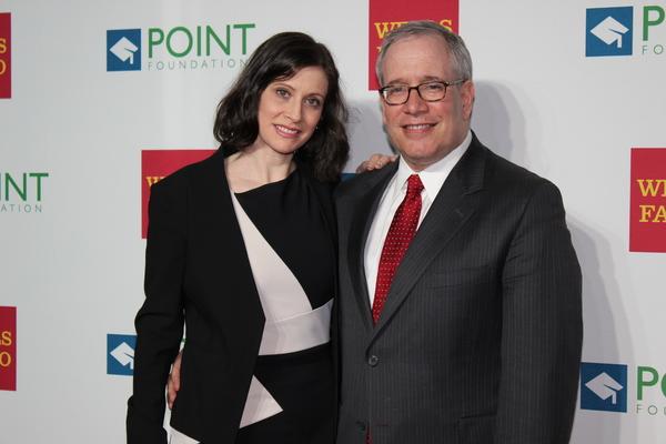 Elyse Buxbaum and Scott Stringer