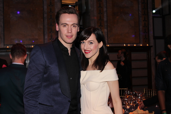 Erich Bergen and Lena Hall