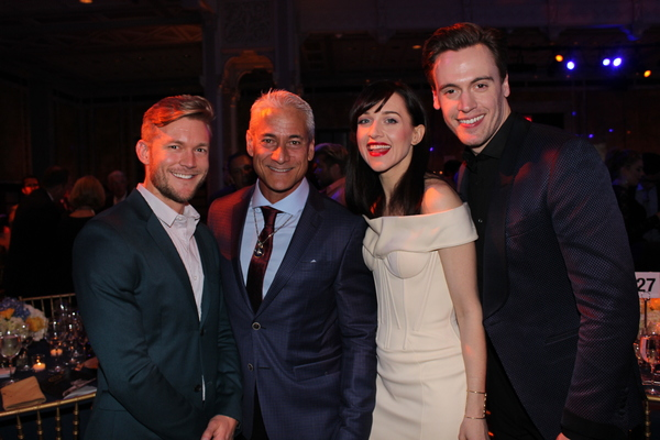 Eddie Rabon, Greg Louganis, Lena Hall and Erich Bergen