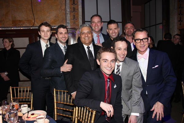 Perfect Ending to a Perfect Night 'Table 8' Michael Gaisa, Jon Munoz, Omar Shariff Jr, Bill Kapfer, Todd Sears, Adam Wexelbaum, Michael Honig, Jonathan Lovitz and Ian Whitt