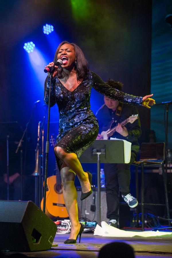 Aisha Jackson; Photo by Chris Burch