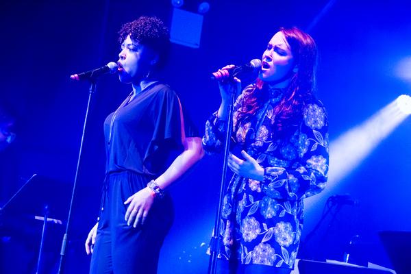 Lilli Cooper & Christine Dwyer; Photo by Kristin Goehring