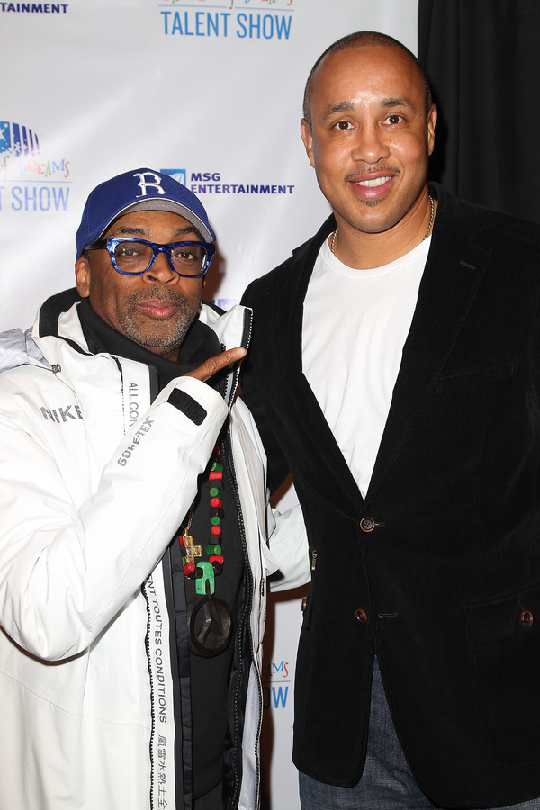 Spike Lee and John Starks