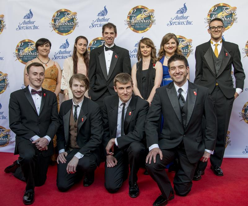 Matt Dovey and Adrian Massaro Top 2016 L. Ron Hubbard Achievement Awards