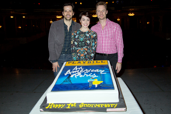 Robert Fairchild, Leanne Cope, Christopher Wheeldon
