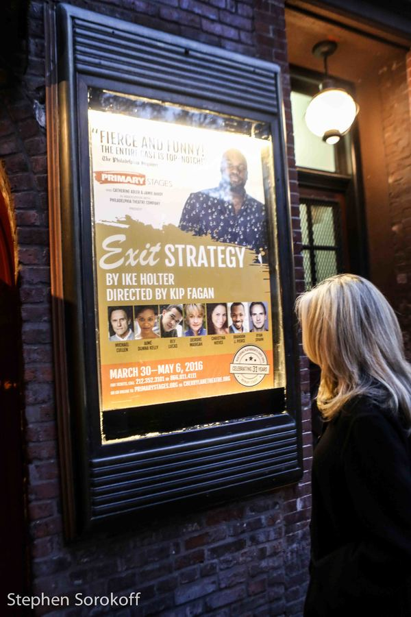 Photo Coverage: Primary Stages Celebrates Opening Night ofEXIT STRATEGY
