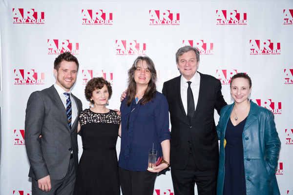 Andy Truschinski, Ginny Louloudes, Pam MacKinnon, John Procaccino and Tracee Chimo
