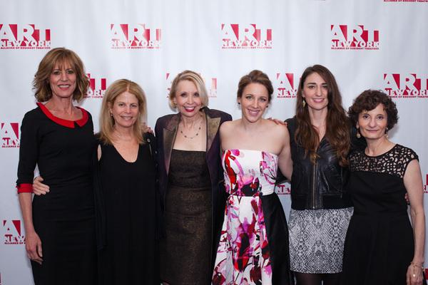 Christine Lahti, Jessie Nelson, Julie Halston, Jessie Mueller, Sara Bareilles and Ginny Louloudes