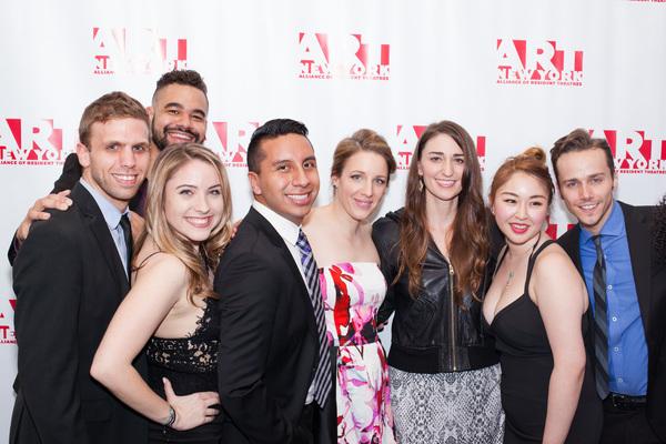 Justin Luciano, Callie Falk, T.J. Newton, Jessie Mueller, Sarah Bareilles, Angela Hsu Photo
