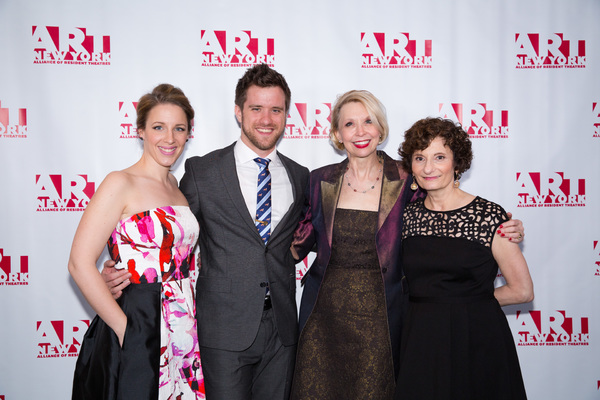 Jessie Mueller, Andy Truschinski, Julie Halston and Ginny Louloudes