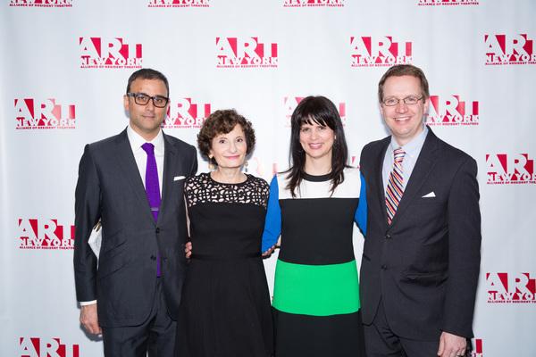 Raj Patel, Ginny Louloudes, Elaine Molinar and Joe Solway
