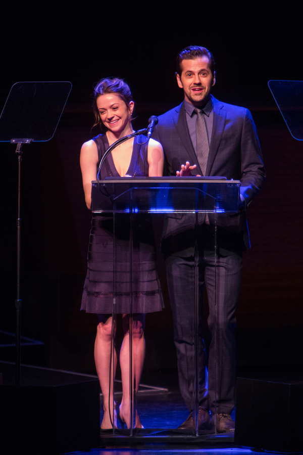 Robert Fairchild and Megan Fairchild,
