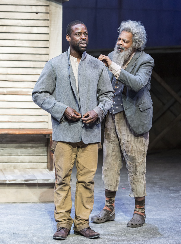 Sterling K. Brown and Roger Robinson