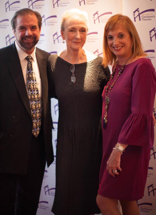 Barbara Zinn Krieger, Kathleen Chalfant & Jen Garvey Blackwell, Executive Producer, Vineyard Theatre