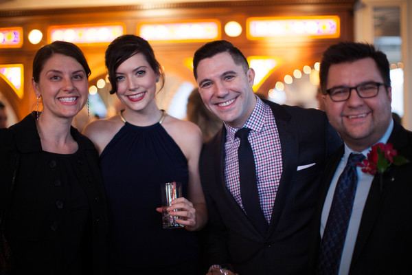 Rebecca Greer Melonik (WRINGER), Jaime Cesa (CESA Entertainment, Inc.) and Jacob Yand Photo