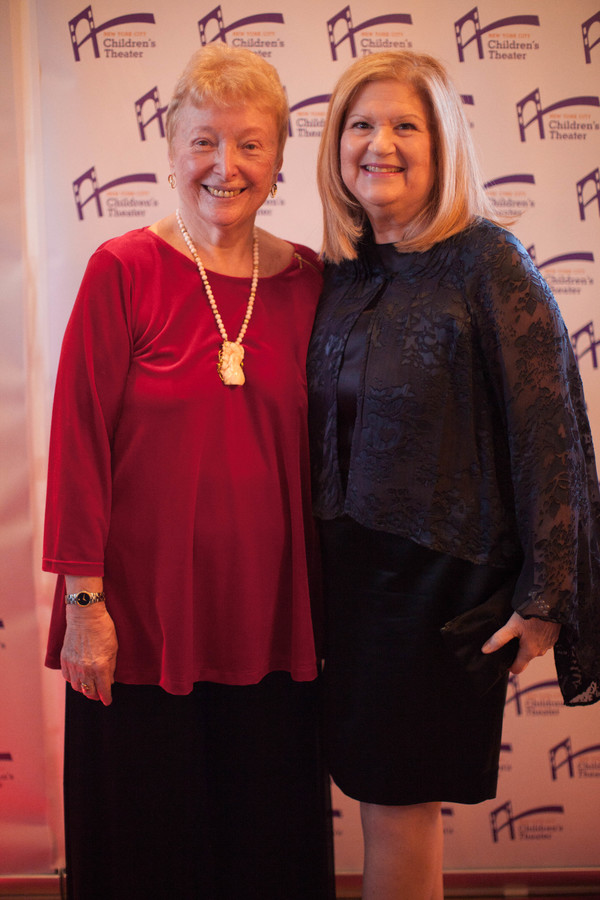 Barbara Zinn Krieger and guest