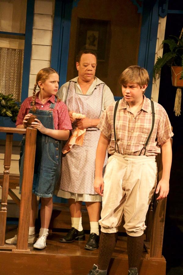 Olivia Garland, Eileen Price and Matthew Martin