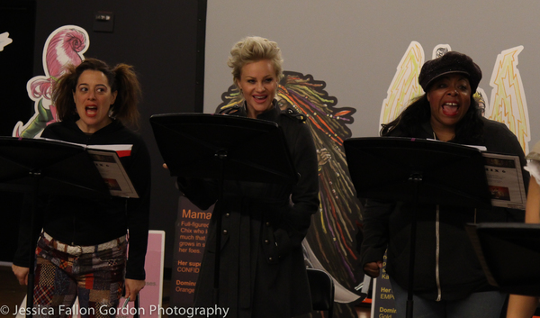 Sheri Sanders, Nicolette Hart and LaVon Fisher Wilson Photo