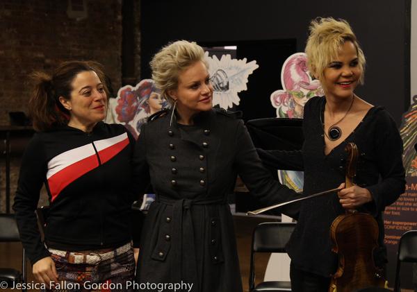 Sheri Sanders, Nicolette Hart and Lourds Lane