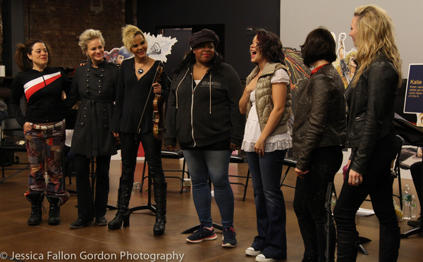 Sheri Sanders, Nicolette Hart, Lourds Lane, LaVon Fisher Wilson, Diana DeGarmo, Brie  Photo