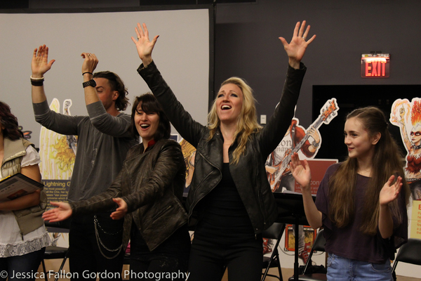 Exclusive Photo Coverage: Diana DeGarmo, Ace Young & More Take Part in CHIX 6 Reading