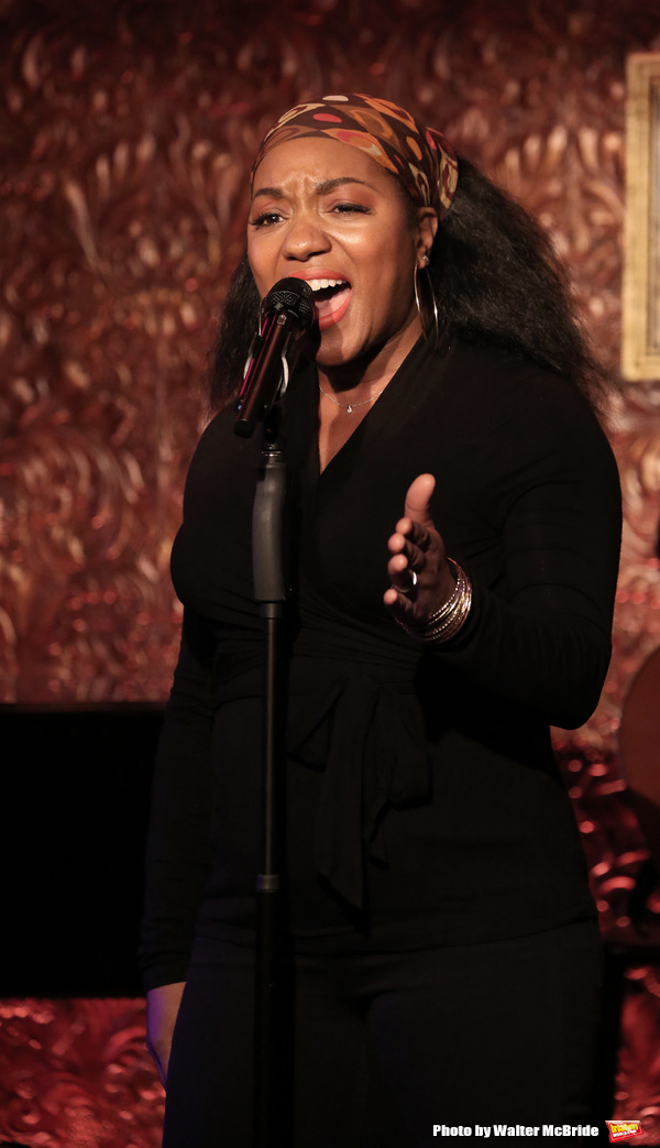 during the Barrington Stage Company Press Preview at Feinstein's/54 Below on April 13, 2016 in New York City.