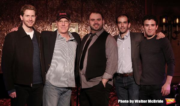 Eric Price, Michael Rupert, Joel Waggoner, Marc Brubi and Jarrod Spector