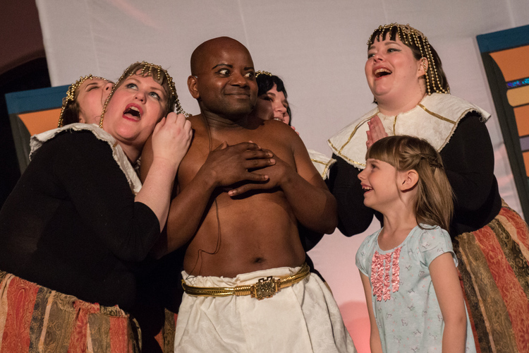 High Res King Avenue Players' JOSEPH AND THE AMAZING TECHNICOLOR DREAMCOAT