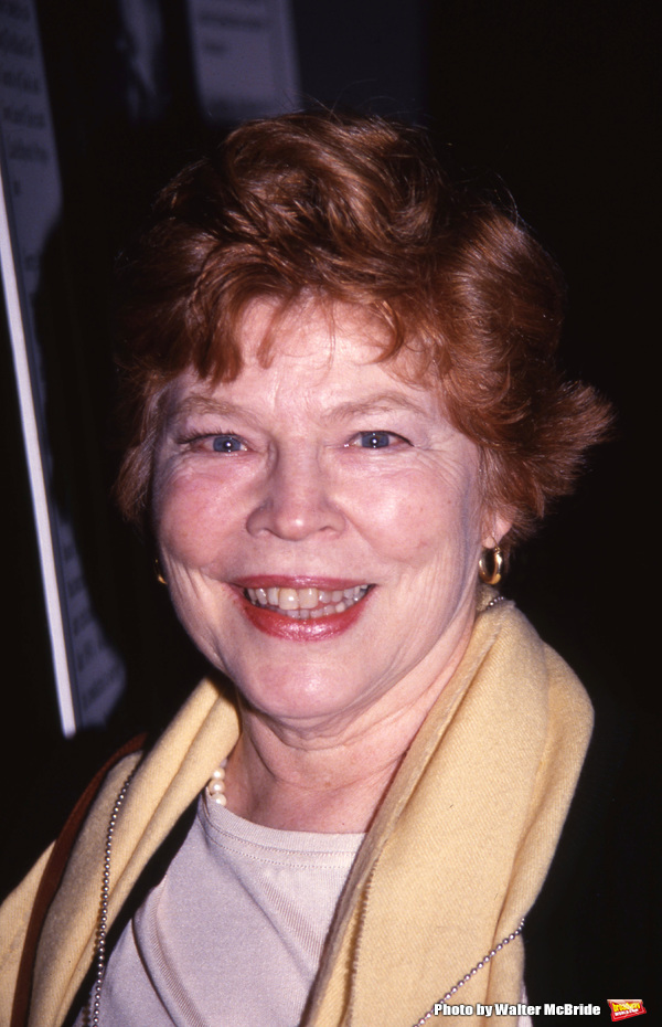 Anne Jackson  attends a Broadway Show on November 8, 1992 in New York City.