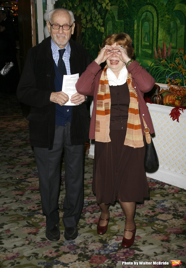 Eli Wallach and Anne Jackson at PRIMARY STAGES 22nd Anniversary Gala Benefit, honoring Julie Harris, at Tavern on the Green on 11/06/06