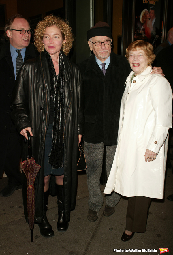 Amy Irving with Eli Wallach and Anne JacksonAttending the Opening Night Performance ofTWENTIETH CENTURY at the American Airlines Theatre in New York City.March 25, 2004