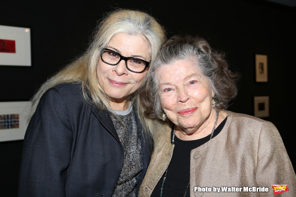 Roberta Wallach and mother Anne Jackson attends the '12th Annual Love N' Courage' celebrating David Amram and Tammy Grimes at The Players Club on March 2,, 2015 in New York City.