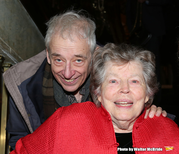 Austin Pendleton and Anne Jackson attending 'Love n' Courage' - Theater for the New City Benefit at The National Arts Club on February 24, 2014 in New York City.