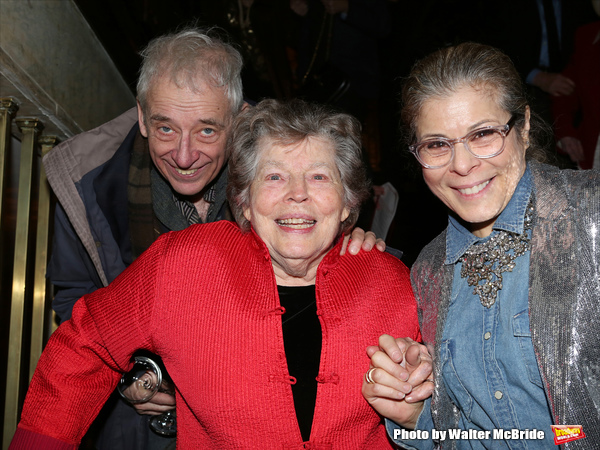 Austin Pendleton, Anne Jackson and Roberta Wallach attending 'Love n' Courage' - Theater for the New City Benefit at The National Arts Club on February 24, 2014 in New York City.
