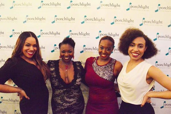 The Dreamgirls - Katherine Thomas (Lorrell Robinson), Donica Lynn (Effie Melody White), Candace Edwards (Deena Jones), Kyrie Courter (Michelle Morris)
