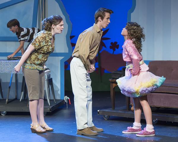 Carly McClain (Mrs. Pinkerton), Vincent Pugliese (Mr.Pinkerton), Makenna Jacobs (Pink Photo